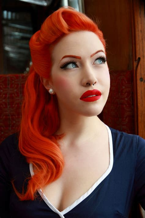bright orange hair dye neon hair colors ideas haircolors trends of neon orange