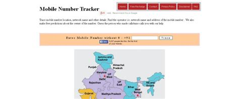 trace mobile location top 10 websites to track mobile number location