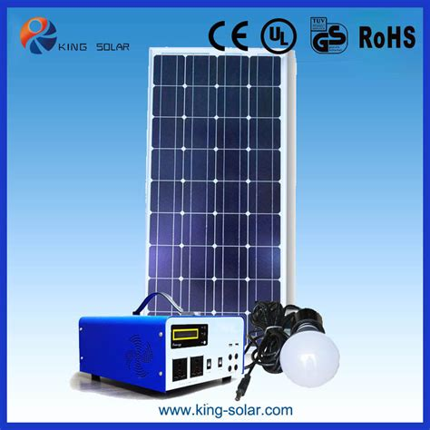 1000 watt high efficiency solar power generator system for