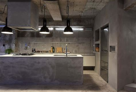 Kitchen Cabinets Islands Ideas interior design a concrete apartment