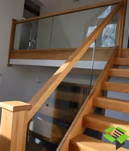 open plan oak and glass staircase stairbox staircases