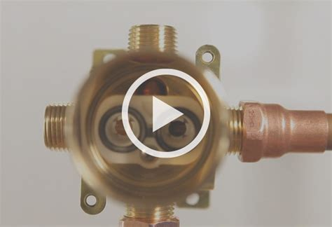 replacing bathtub faucet valves shower manifold image is loading kes pv4 solid brass
