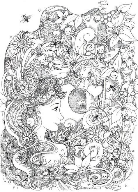 doodle coloring pages colouring adult detailed advanced