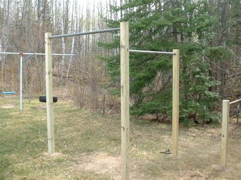 backyard gymnastics bar 37 best homemade pull up bar images on pinterest