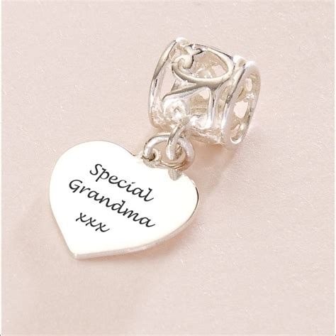 Pandora Charm Sterling Silver P 473 special charm sterling silver fits pandora