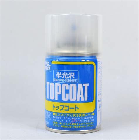 Murah Mr Hobby Top Coat Semi Gloss mr hobby top coat spray 86ml semi gloss clear b502 ebay