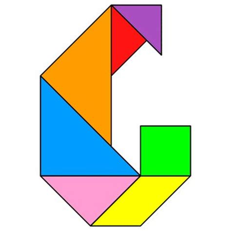 College Letter Earners Crossword 135 best tangram images on activities math
