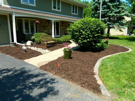 front yard landscaping ideas brick the garden inspirations