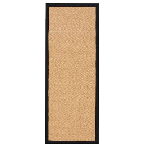home decorators collection marblehead sisal black 2 ft 3