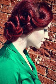 formal hairstyles red hair red hair pin up updo retro wedding hair prom