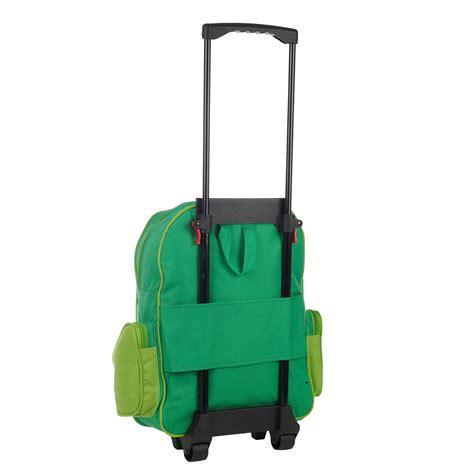 wheelie roller backpack rucksack school travel pull along trolley ebay