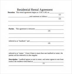 Basic Residential Lease Agreement Template Simple Rental Agreement 11 Download Free Documents In