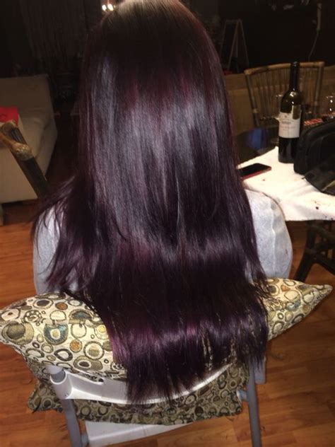 violet brown hair color purple violet brown hair get yo hair diiiid