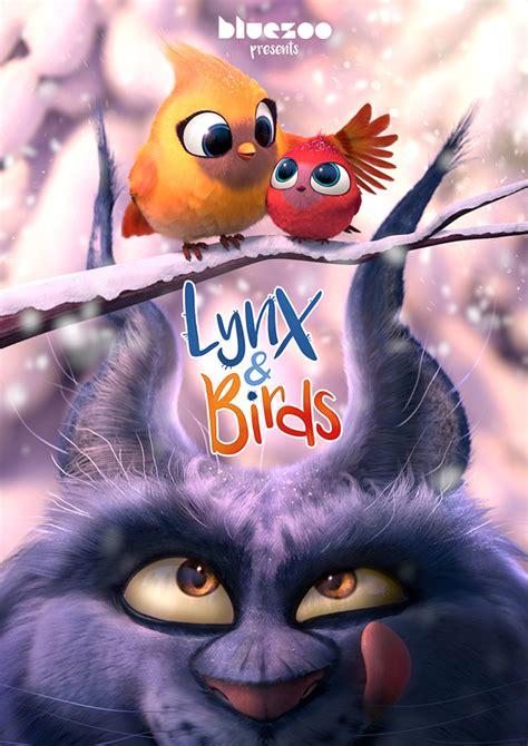 lynx birds buatan blue zoo studio blue zoo knits up charming xmas short lynx birds