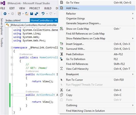 mvc layout side menu menu link in layout sle in mvc day 8