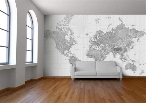 black and white wallpaper murals uk black and white world map wallpaper map mural printed