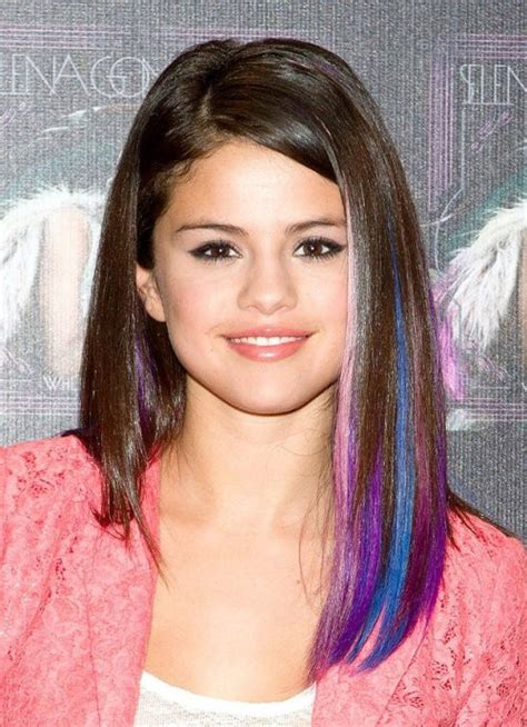 temporary highlights for dark hair that washes out how to get temporary vivid highlights women hairstyles