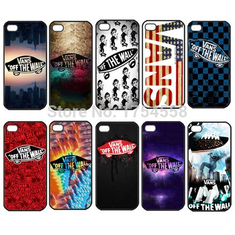 Vans The Wall Blue Pattern Ipod 4 Touch Ipod 5 Casing Cover 1pc vans wall pattern protector snap on cover for iphone 4 4s