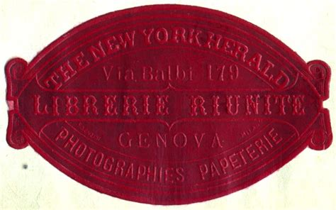 librerie riunite seven roads gallery of book trade labels r