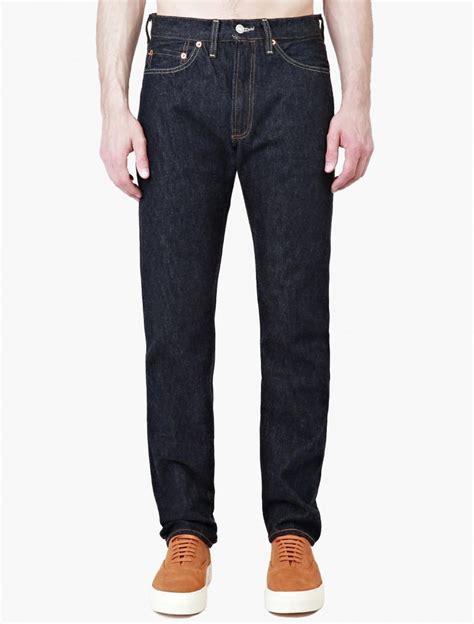 Kaos Levis 501tshirtt Shirt Levis 501 levi s new rinse 1954 501 rigid in blue for lyst