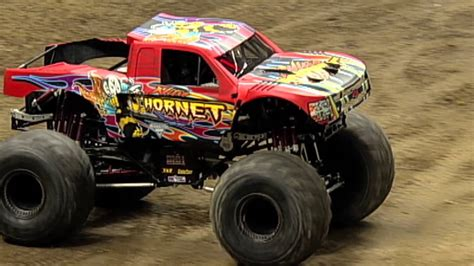 nitro hornet monster truck monster jam nitro hornet freestyle in new orleans jan