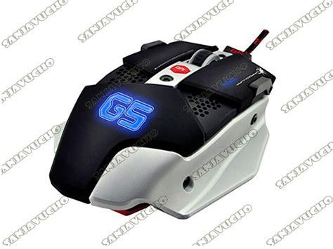 Dragonwar Ele G10 Ares Blue Sensor Gaming Mouse Black sanjavucho
