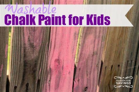 washable chalk paint diy diy summer outdoor on a budget thrifty nw
