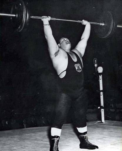 overhead press bench press the 25 best bill kazmaier ideas on pinterest