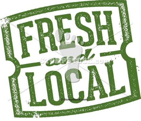 fresh and local market st stompstock royalty free