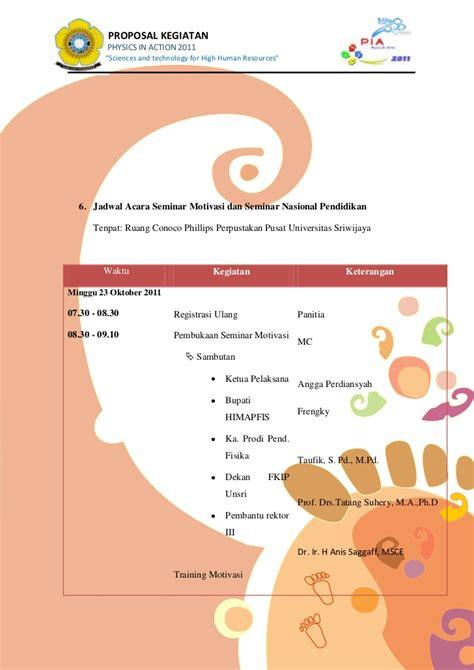 format proposal untuk sponsor contoh cover proposal seminar lowongan kerja