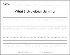 free printable writing worksheets for 2nd grade scalien