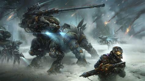 hd wallpaper destiny battle robot desktop