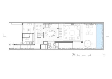 Large House Floor Plan Gallery Of K House Studio Arthur Casas 12
