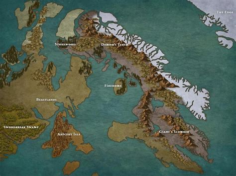 commissioned map  dark souls style campaign inkarnate