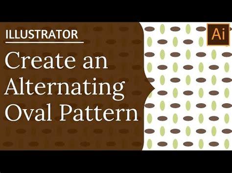 repeat pattern illustrator youtube create an oval repeating pattern in illustrator making
