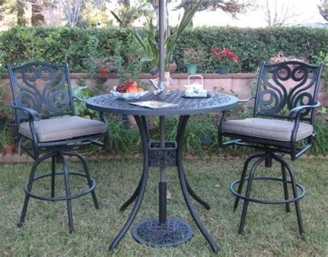 Black Cast Aluminum Patio Furniture by Cast Aluminum Black Cast Aluminum Patio Furniture