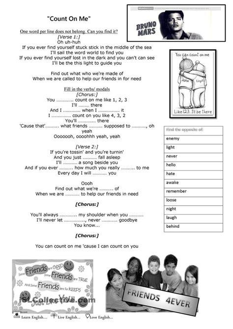 bruno mars biography worksheet 17 best images about english 5 grammar on pinterest