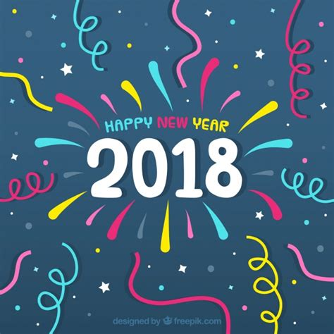 new year 2018 vector new year 2018 background vector free