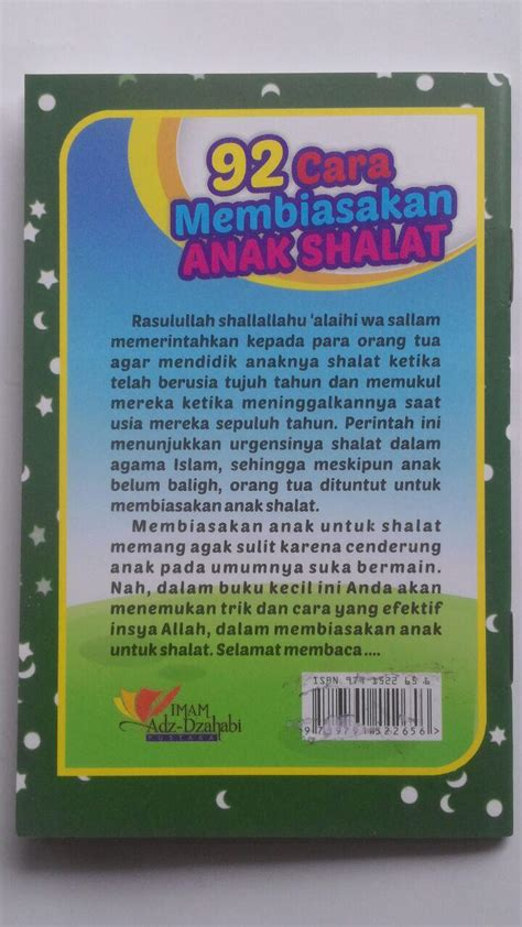 Promo Panduan Nama Nama Indah Untuk Anak Pustaka Ibnu Umar buku saku 92 cara membiasakan anak shalat