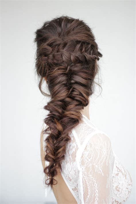how to do mermaid hairstyles mermaid braid by stella loewnich frisuren pinterest