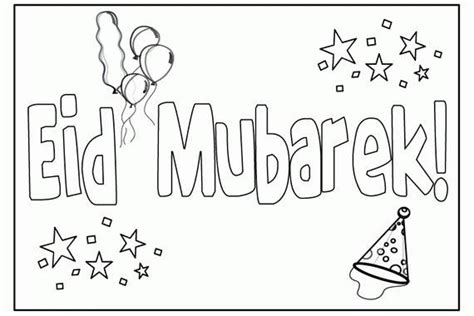 eid card templates to colour eid card coloring pages images sketch coloring page