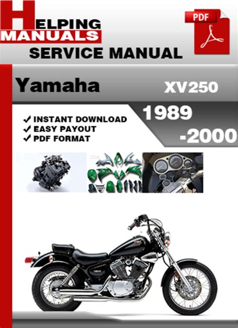 Yamaha Xv250 1989 2000 Service Repair Manual Download
