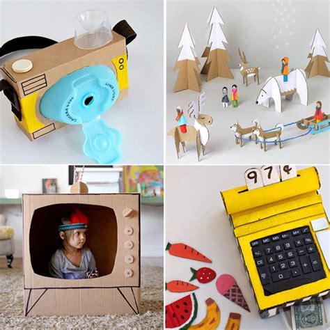 cose da costruire in casa 20 bellissimi giocattoli da fare con scatole di cartone da