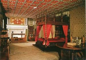 Old castle bedroom viewing gallery