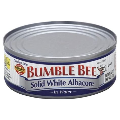 bumble bee solid white albacore tuna in water 5 oz can