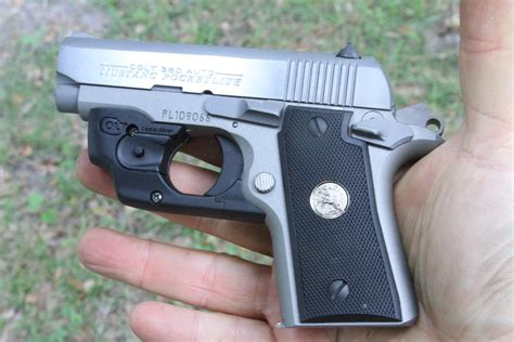 colt mustang pocketlite 380 w lasermax new gun review