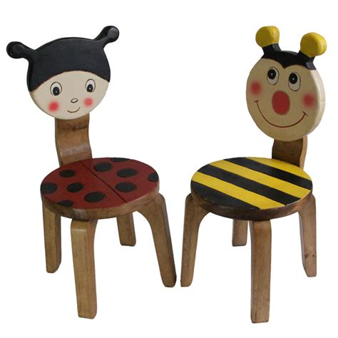 wooden chair set bug bee buy tables chairs