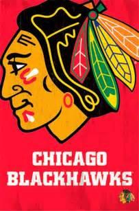 Home Decor Montreal Chicago Blackhawks Logo 13 Wall Poster