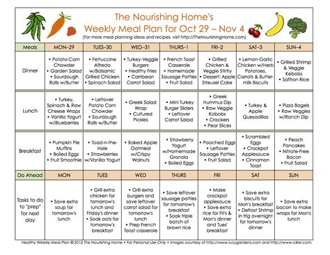 home diet plans meal plan monday october 29 november 11 the