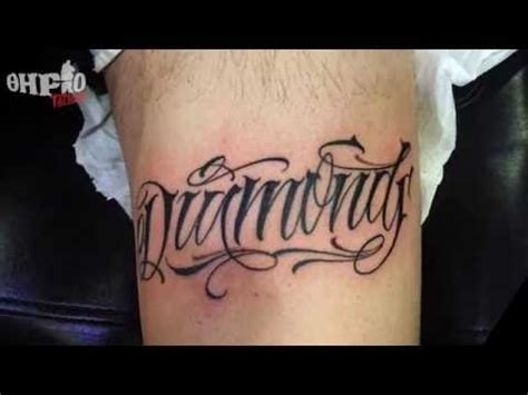 tattoo cnblue lyrics translation thirio tattoo chicano lettering by jay youtube